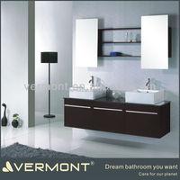MDF Espresso Vanity With Sink