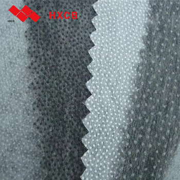 Polyester Dot Non woven Fusible Thread Interlining