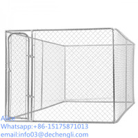 chain link dog cage/dog kennels