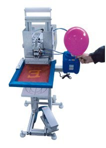 Semiautomatic silkscreen 1 colour balloon printer