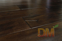 Smooth surface acacia engineered hardwood flooring finished water resistant wood flooring