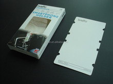 plastic/paper mobile phone accessories packaging box