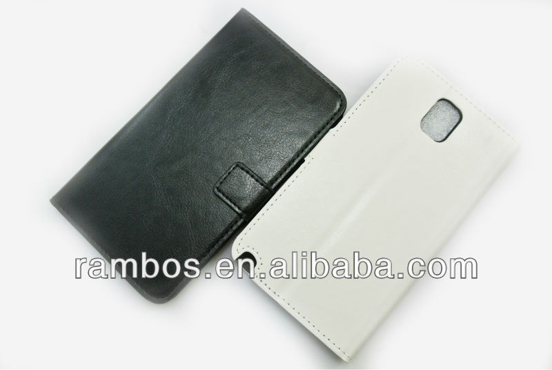 Wallet Stand Leather PU Card Holder Cover Case for Samsung N9000 Galaxy Note 3
