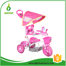 309 Multifunctional Folding Cheap 3 wheel baby tricycle stroller