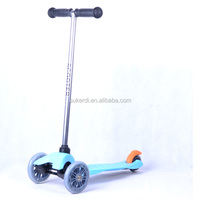 3+ years old children toy micro 3 wheel pedal kick scooter wheels