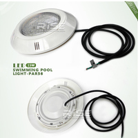 Flat Concrete Led Pool Lights / Multi Color Led Swimming Pool Light / Ip68 Led Pool Light