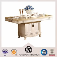 Great design white luxury marble dining table