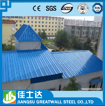 bright red/sea blue/zinc metal roofing GI galvanized corrugated iron sheet