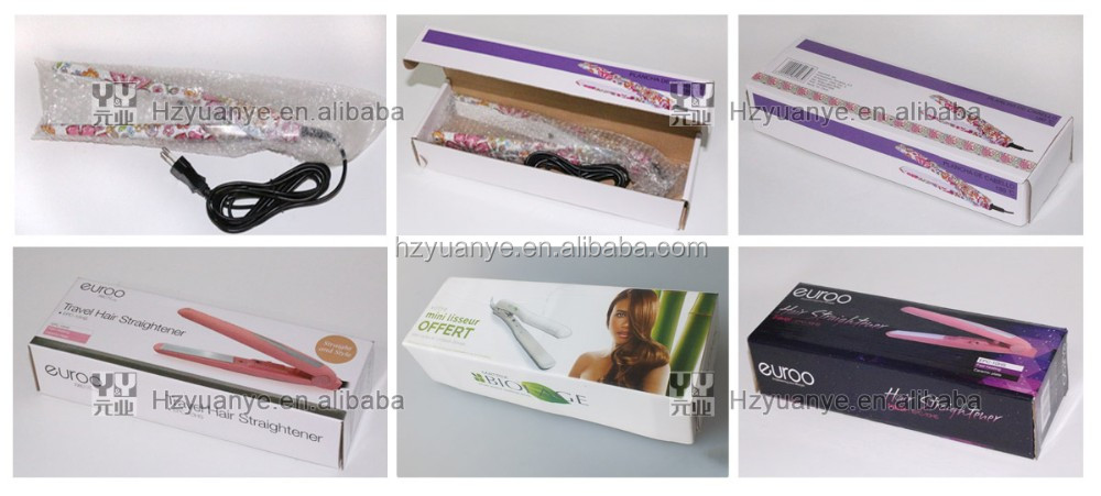 Color Printed Bivolt Portable Hair Straightener