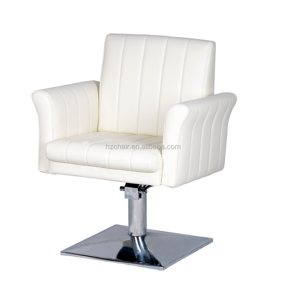 2015 Woman's white barber chairs salon styling chair /antique furniture beauty salon