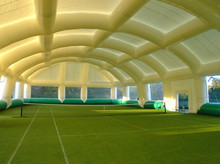 inflatable tennis court