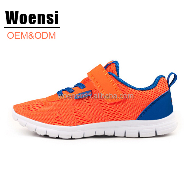 latest best selling factory fashion quality fly knit sports shoes for children