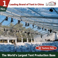 2016 Outdoor Clear Party Tent For Christmas Event in Winter Cold Weather