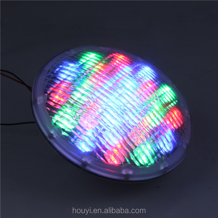 2018 12v RGB par56 underwater led light ip68 colourful changing spa pool swimming lights