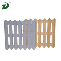 2016 New design garden wood fence outdoor