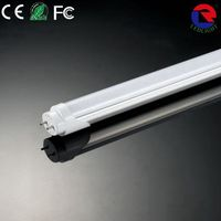 UL CE ROHS AC85V-265V frosted transparent half Aluminum half PC 600mm 900mm 1200mm 150cm LED tube,T8 LED