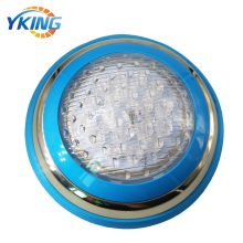 Stainless steel Single Color 15w ip68 led surface mounted swimming pool light