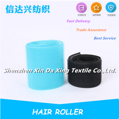 Magic Plastic Hook and Loop Hair Roller
