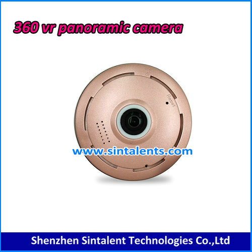 China factory cctv home security 360 degree vr panoramic sd card wireless small mini camera wifi v380 fisheye ip camera