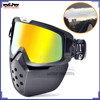 BJ-MG-024 Scooter glasses Atv goggles motorcycle detachable goggles