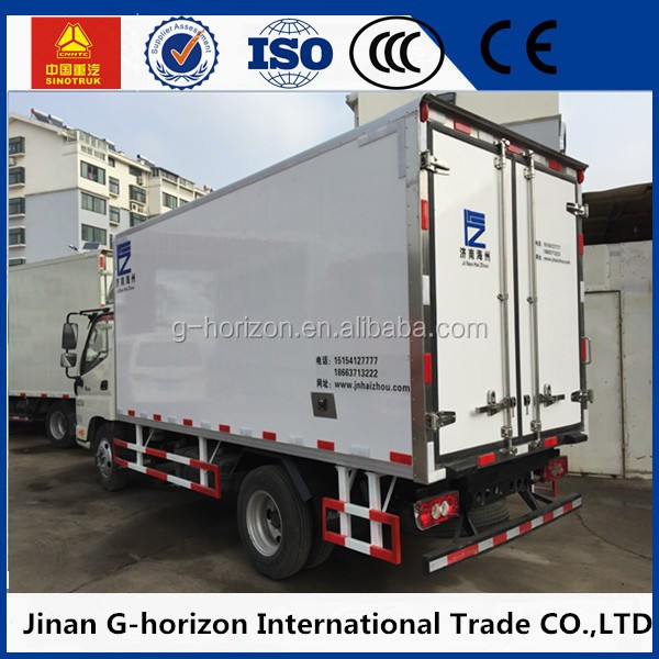 2 ton freezer refrigerated truck