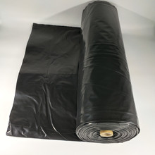 Black poly sheeting for plastic construction film