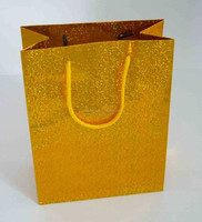 Luxury Glitter Elegant Special Paper Bag with Rope Handle