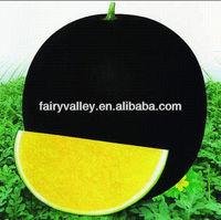 Raw bulk hybrid f1 black peel yellow seedless watermelon seeds for growing high sugar content water melon