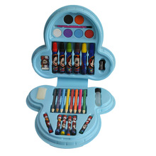 JF88810 33PCS 33 pcs pieces school kids art oil markers color drawing art pencils coloring colouring set