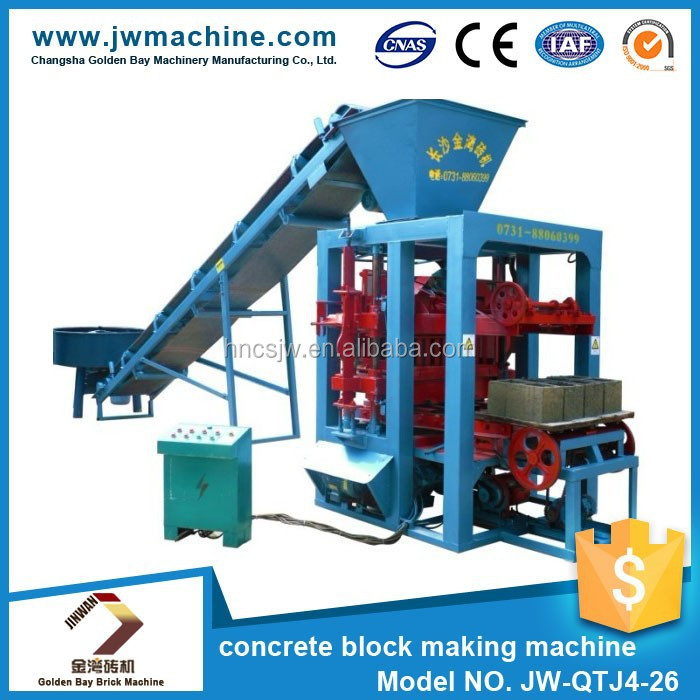 2016 New German technology cement brick block making machine price,cheap price manual cement block making machine