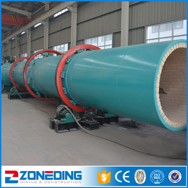 High Efficient Factory Price Industrial Sawdust Rotary Dryer