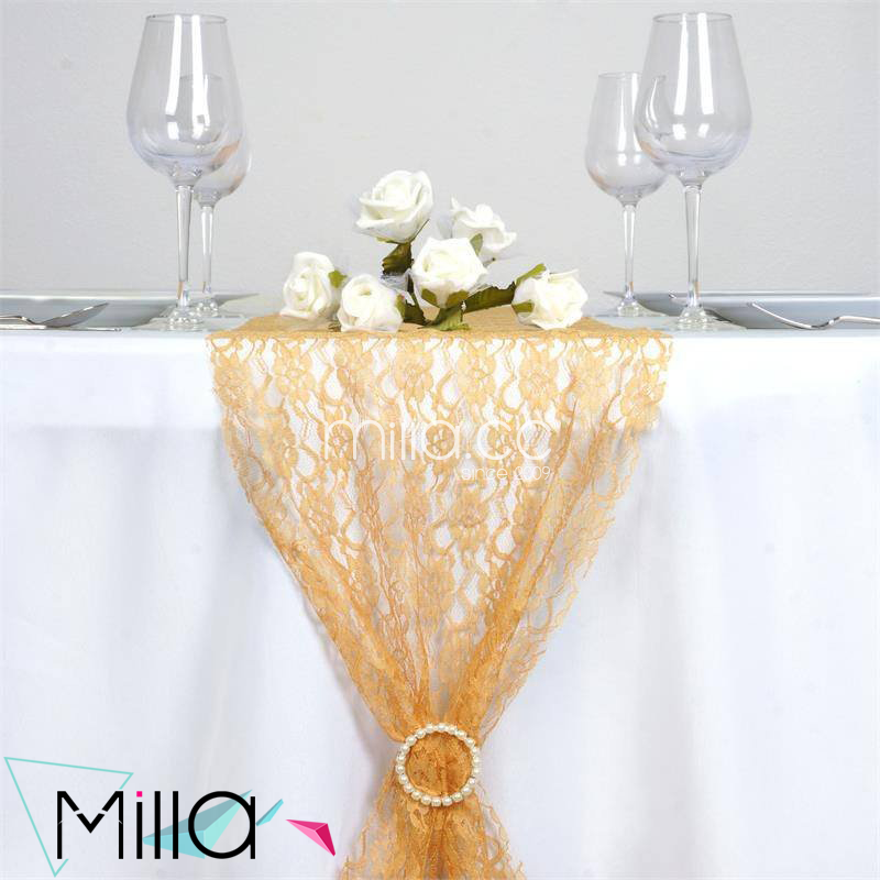 Custom fashion lace table runners