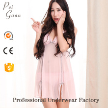 sexy Quick dry fashion stylish transparent nightwear for honeymoon