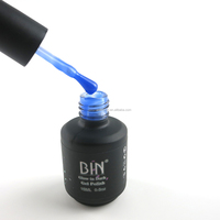 BIN 14colors available glow in the dark gel nail polish