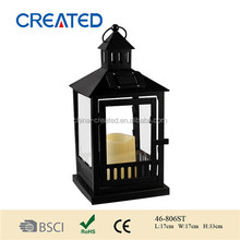 Traditional Candle Lantern with solar function,led lanterns,candle holder