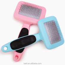 Dog Grooming Comb Plastic Dog Brush For chihuahua Shedding Slicker Tool Dog Hair Brush