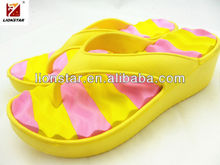 2013 candy color high wedges sandals