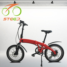250w Wattage japanese import electric foldable bike 36v
