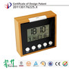 Hairong table lcd digital table clock & lcd table clock & table alarm clock