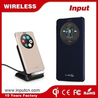 Professional Manufacture quality assurance mobile phone use qi wireless charger receiver case for LG3