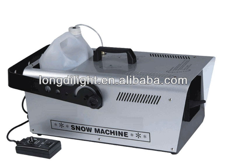DMX Remote 1500 Watt Snow Machine