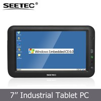 "7"" WIN CE 6.0 Linux Touch Memory DDRII SDRAM 256MB Mini USB 2.0 USB Host 1.1 Lan Port RJ45 RS232 tablet pc price china"