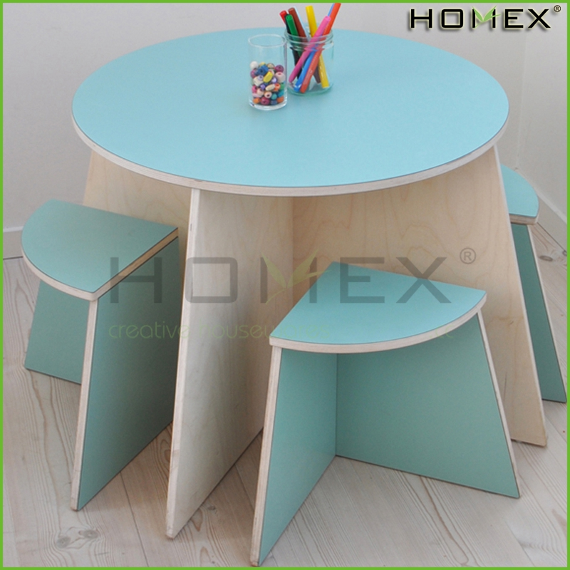 attractive round table and chair children table and chair