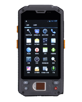 Cheapest Factory 4.3 Inch fingerprint reader rugged smartphone with fingerprint reader