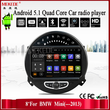 Newest Android Car gps For BMW Mini Cooper With Android 5.1 System Car radio Player For BMW Mini Cooper