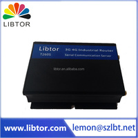 premium Libtor Vpn Wireless WIFI Modem 4g to serial port industrial router with 2 LAN ports for vending machine application
