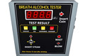2015 New design product coin operated alcohol tester for bar /restaurant /hotel with coins bar breathalyzer