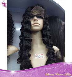 Grade 6A Top Quality Virgin Brazilian Front Lace Wigs / Full Lace Wigs Kinky Curly Human Hair for Black Women with baby hair