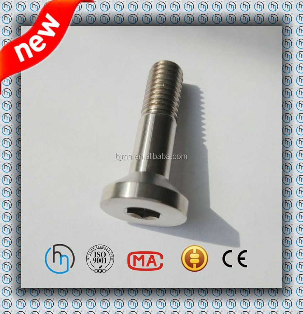 Titanium Countersunk head hex socket bolt M8x35