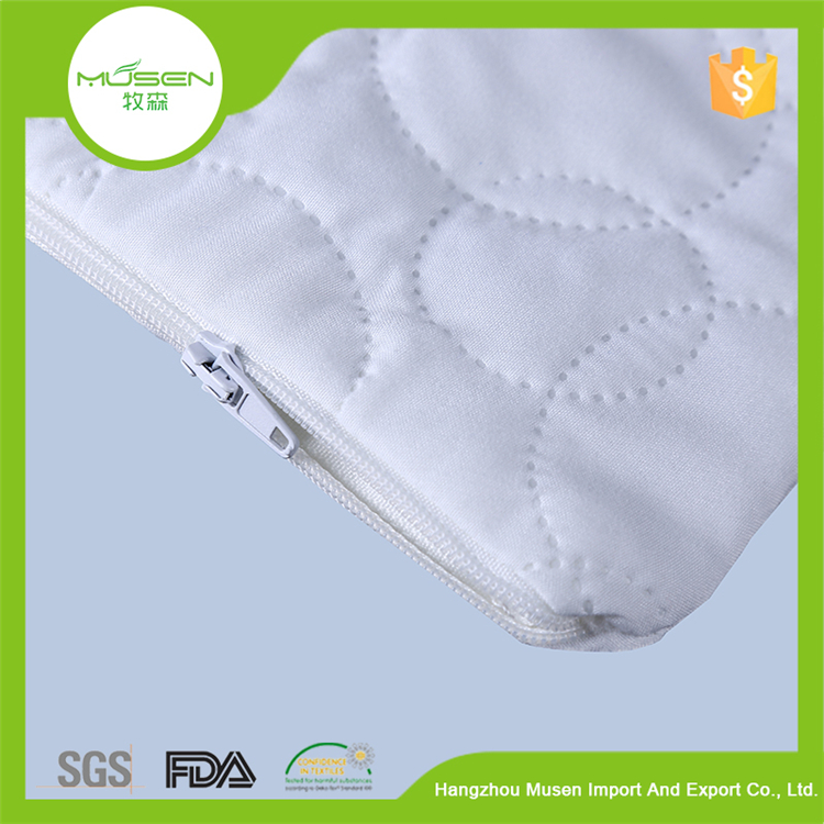 Alibaba China Wholesale Cotton Jersey Hypoallergenic Quilted Pillow Case